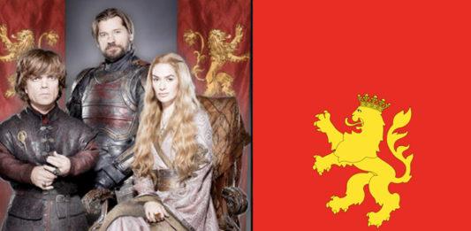 Los Lannister confirman que su bandera se basa en la de Zaragoza