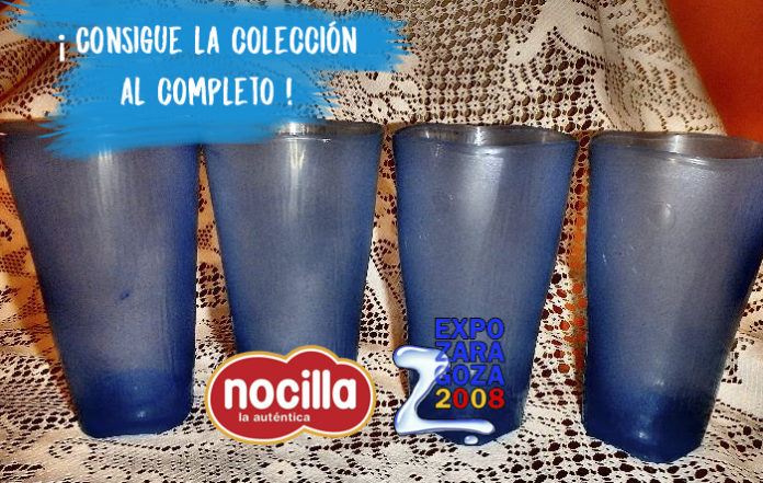 Nocilla saca una edición especial basada en los vasos de la Expo 2008