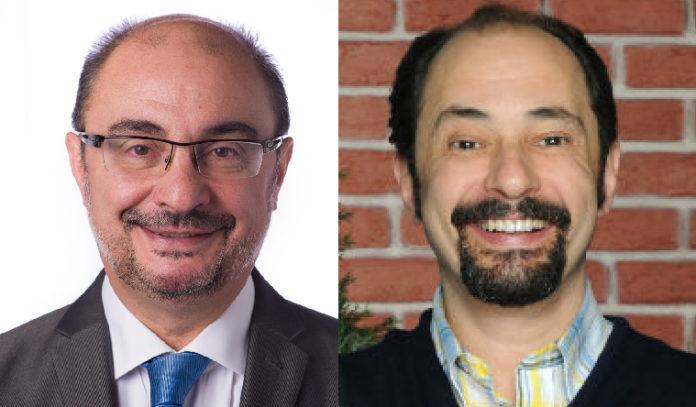 ¿Son Javier Lambán, presidente del Gobierno de Aragón, y Antonio Recio dos gemelos separados al nacer?