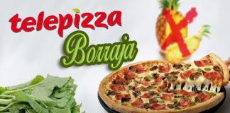 Telepizza cede a las presiones y sustituirá la piña por borraja