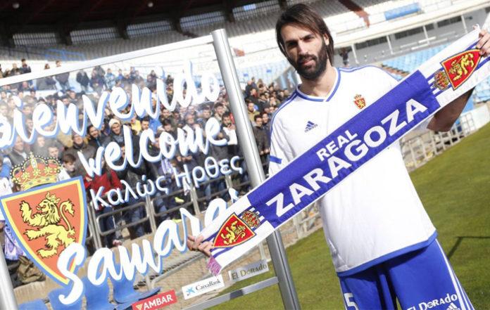 El Real Zaragoza amueblará el corner de su estadio para que Samaras esté como en casa
