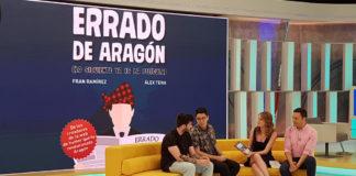 Errado de Aragón donará un 4% de la recaudación de su libro para la reconstrucción de la Facultad de Filosofía y Letras