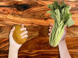 Tasty triunfa al preparar su nuevo plato estrella: borraja con patata