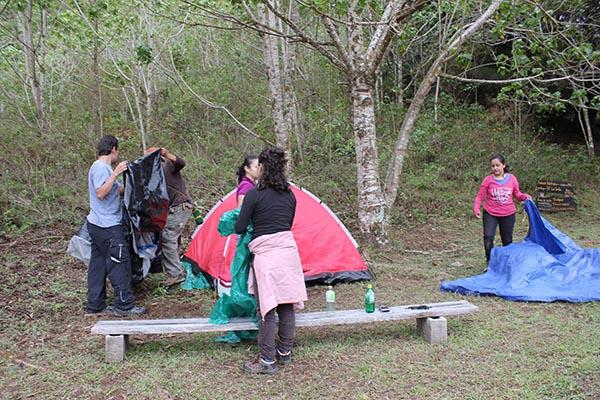 Desalojan un campamento en Aínsa por fallos en la señal del WiFi