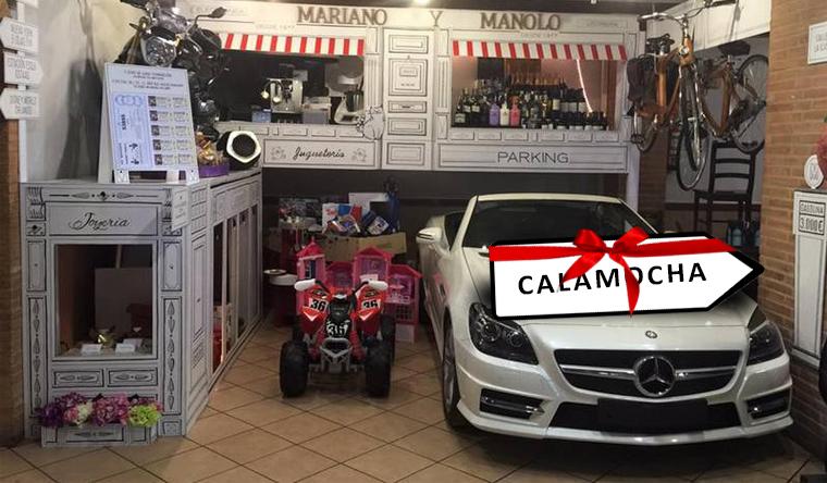 La cesta navideña de Calamocha incluirá a Calamocha en el sorteo