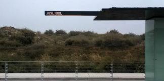 Un conductor de tranvía asegura haber recogido a una persona en la parada de Juslibol