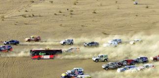 Un conductor de tuzsa, campeón de la quinta etapa del Rally Dakar 2018