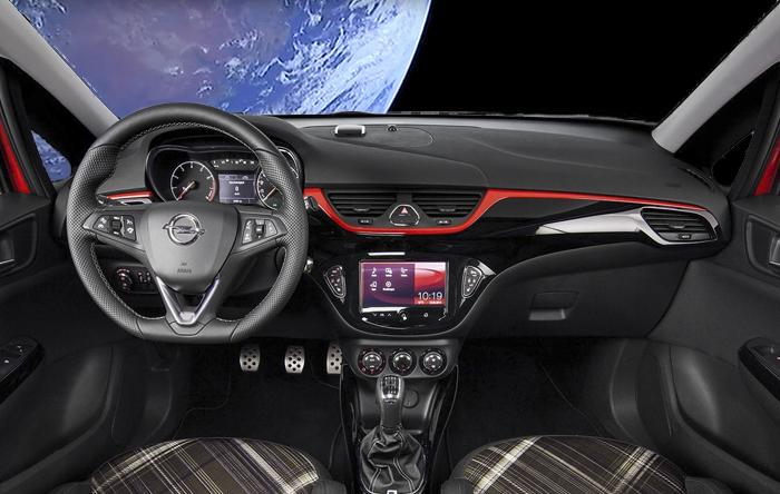Opel promociona el nuevo Opel Corsa lanzándolo al espacio