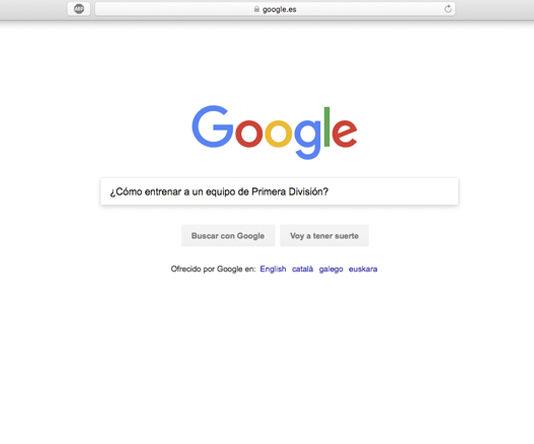 """""""¿Cómo entrenar a un equipo de Primera División?"""", la última búsqueda de Leo Franco en Google"""