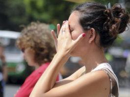 Mujer que criticaba el cierzo pide su vuelta ante el calor