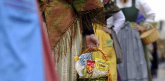 'El Rincón' crea la Ofrenda de Frutos Secos