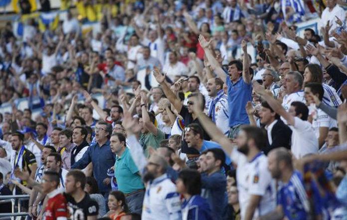 """""""Zaragoza puede que se rinda alguna vez"""", nuevo cántico de la afición zaragocista"""