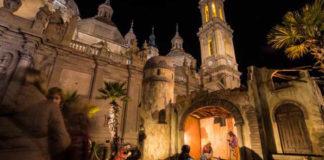 El Belén de la Plaza del Pilar ya supera en habitantes al 47% de los municipios de la provincia de Huesca
