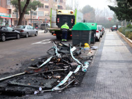 Quemar contenedores ya es el deporte más practicado en Zaragoza