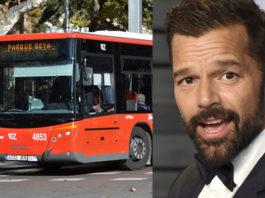 La letra 'Un pasito pa'lante un pasito pa'tras' de Ricky Martin, inspirada en los autobuses urbanos de Zaragoza