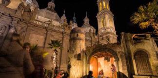 El Belen de la Plaza del Pilar ya supera en habitantes al 47% de los municipios de la provincia de Huesca