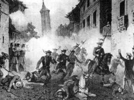 Una pelea entre peñistas carlistas e isabelinos será la actividad que abrirá esta Cincomarzada