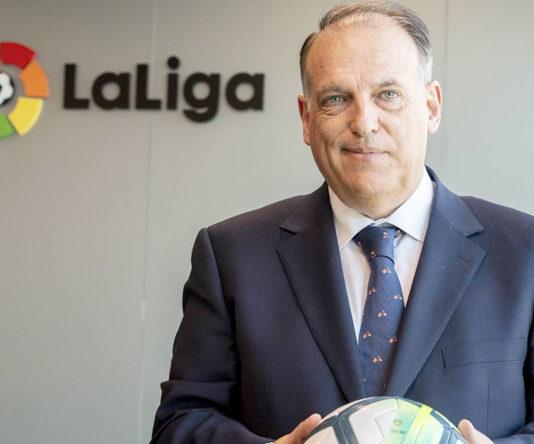 """""""Los lunes son los nuevos sábados"""", la excusa de Tebas para justificar el calendario del Real Zaragoza"""