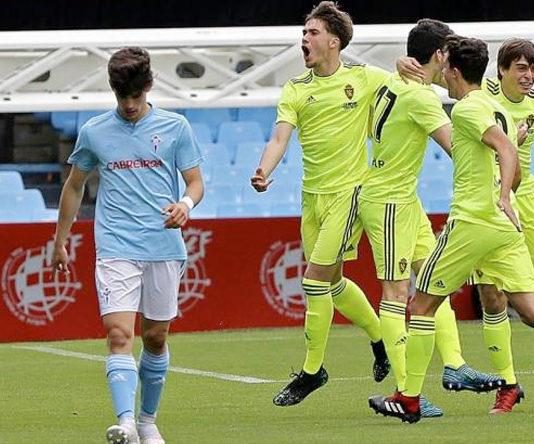 El Real Zaragoza Juvenil impartirá clases de fútbol al primer equipo