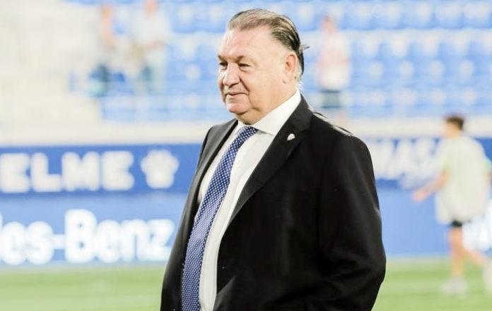 Agustín Lasaosa compra el equipo de fútbol de Zuera