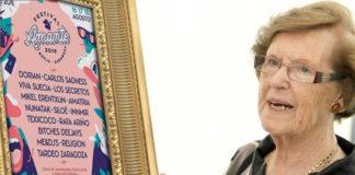 La restauradora del Ecce Homo, Doña Cecilia, estará pinchando en el Festival Amante