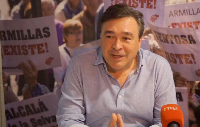 Tomás Guiarte, Diputado de Teruel Existe, entra en el Congreso de los Diputados al grito