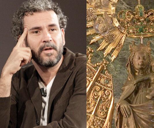 """La Virgen del Pilar contesta a Willy Toledo: """"cuando quieras quedamos, que te reviento"""""""
