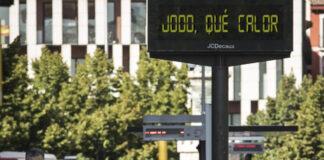 """Los termómetros de Zaragoza empiezan a marcar """"Jodo, qué calor"""""""
