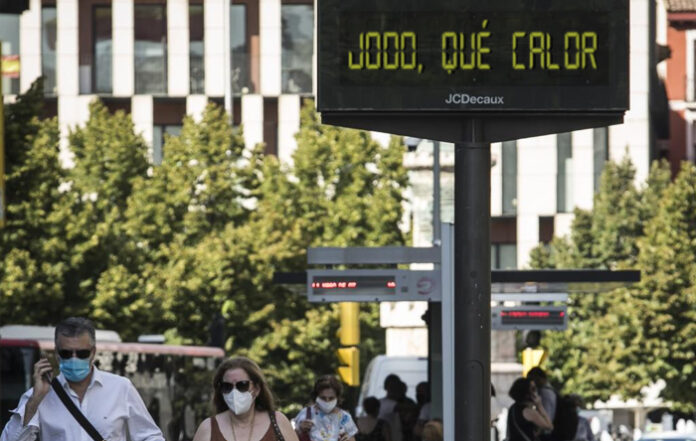 """Los termómetros de Zaragoza empiezan a marcar """"Jodo, qué calor"""