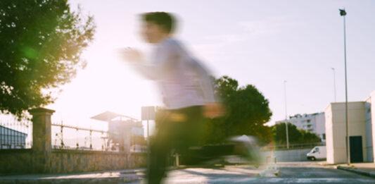 Un oscense bate el récord de velocidad al darse cuenta de que se había dejado la mascarilla en casa