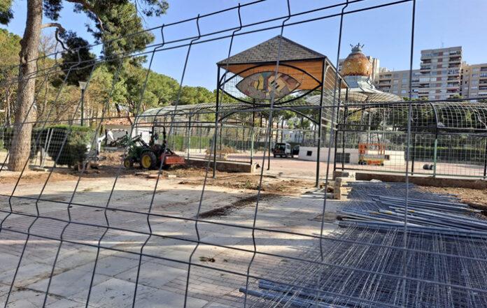 El Ayuntamiento de Zaragoza prevé que para el 2026 el Parque Grande sea todo una gran placa de cemento
